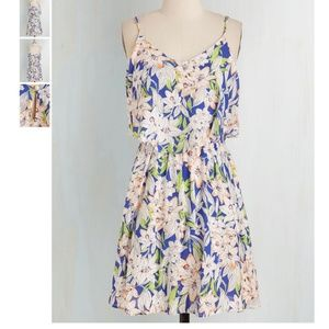 EUC Modcloth Lily Bit of Everything Dress in L